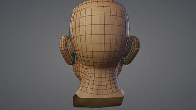 8 - Retopo (Head)