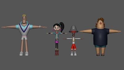 Main Lineup T-Pose change