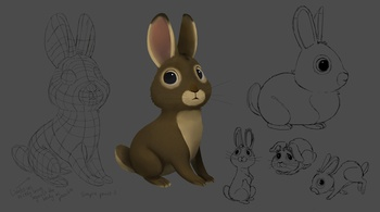 Rabbit concept sheet