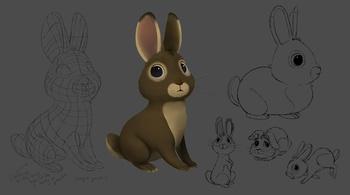 Rabbit concept sheet
