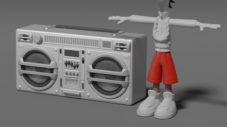 Fragments of a Chunkified world: Jay's Boombox.