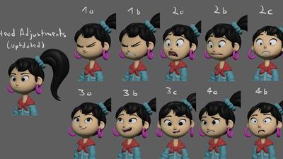 Ellie Expression Tests (Tweaked)