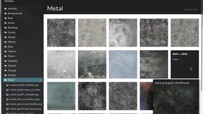 New: Texture Library