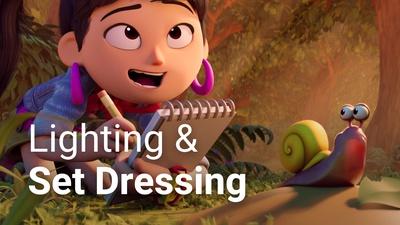 Sprite Fright Workflow: Lighting & Set Dressing