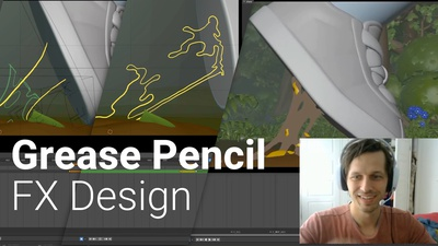 Grease Pencil For Ideation