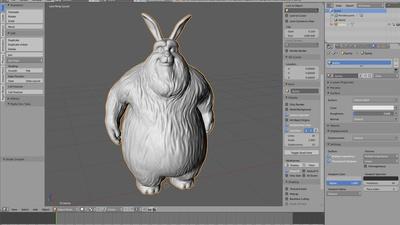3D printable Bunny