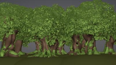 Background Forest (Update)