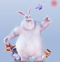 Big Buck Bunny - Magazine cover
