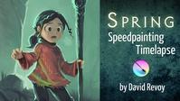 Video timelapse Krita speedpainting