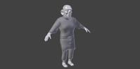 Henchman Cloth Simulation Test 1