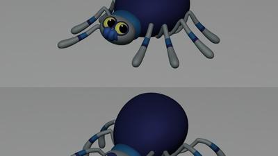 Spider 'Cute vs Evil'
