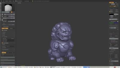 Timelapse: Lion Sculpting
