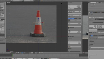 Chapter 01 - Ref Images & Traffic Cone Blockout