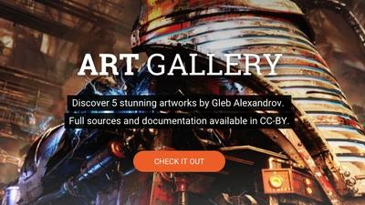 New! Art Gallery, with Gleb Alexandrov
