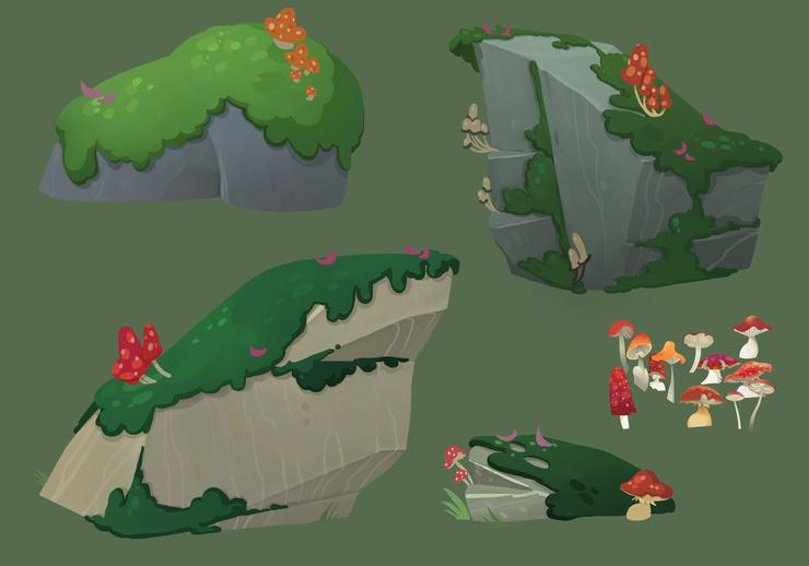 Boulder designs.