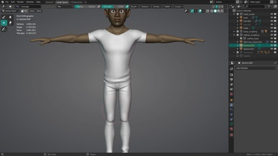 Timelapse: Sculpting Snow's Outfit