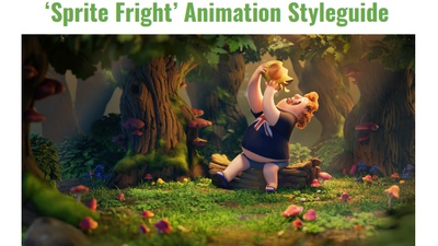 'Sprite Fright' animation style guide