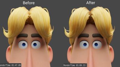 Hair Rendering Improvement