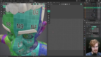 Live: UV Mapping Finale