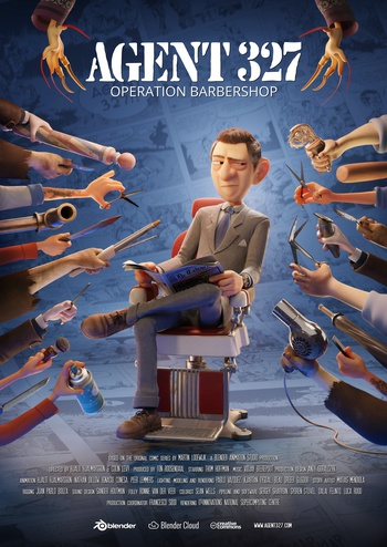 Agent 327 - Operation Barbershop Poster