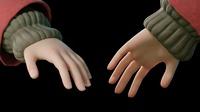 Spring WIP 13 - Hands Textures