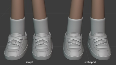 Rex shoes - reshaped