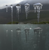 Icicle Assets Material Test 01
