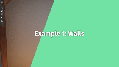 Example 1: Walls (Chapter 2+)