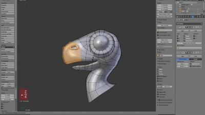Extra: Modeling a Dino Head