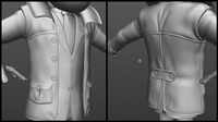 Boris Coat Work in Progress 1