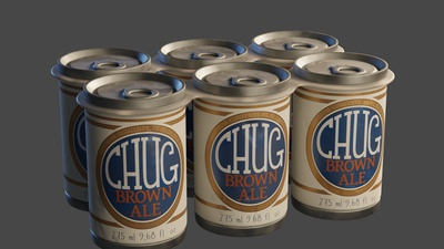 Beer Cans - Shading