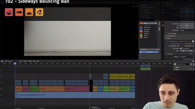 102 Sideways Bouncing Ball