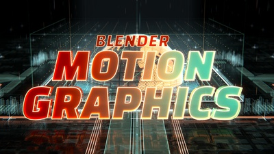 Trailer - Blender Motion Graphics