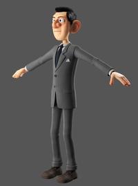 Agent suit textured