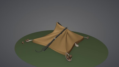 Tent Model (Collapsed)