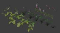 Flower Assets - Growing test 01