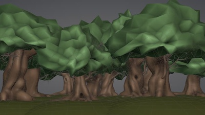 Background Forest (Grove)