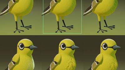 Bird - Body Feather Integration