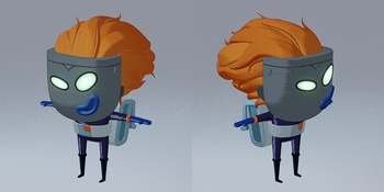 Lunte - Shading - WIP2: Adjustments & Detail