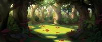 mushroom grove concept painting
