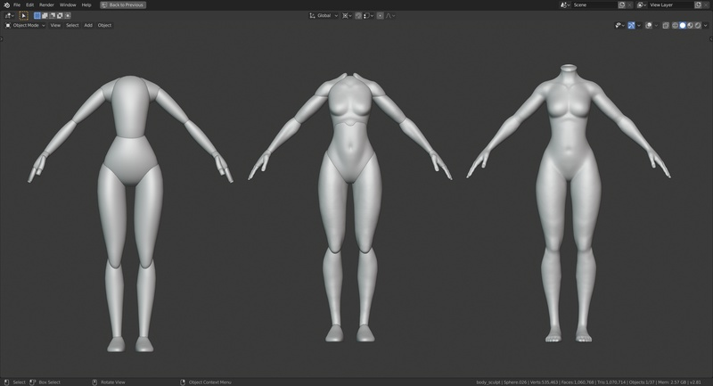 2 - Body Iterations