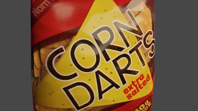 Corn Darts Bag - Shading