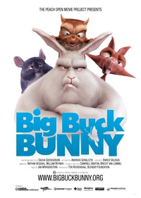 Big Buck Bunny - Poster