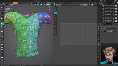 Live: Outfit UV Mapping