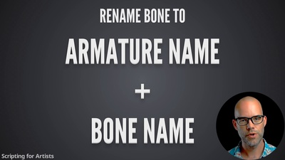 Tech 3: Mass-Rename Bones & Vertex Groups