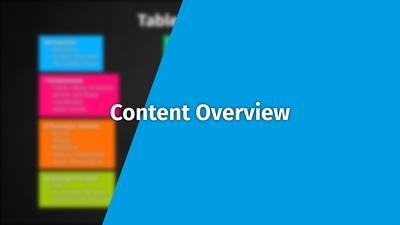 Intro 0-2: Content Overview