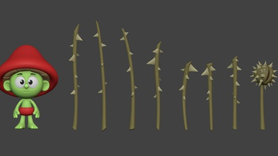 Thorn Staffs Model #2