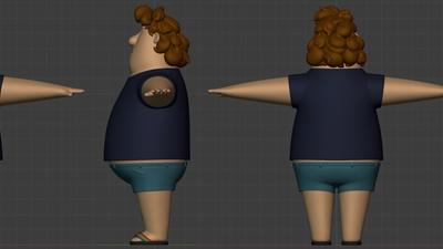Phil clothing, revised - retopo