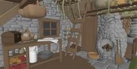 Hut Interior Blocking 3