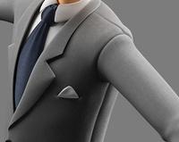 Agent suit texturing - work in progress